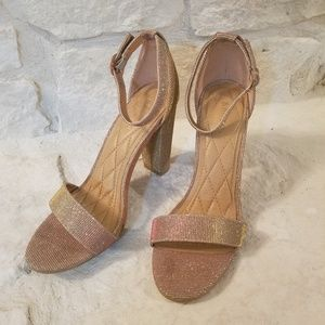 Rose Gold Heels - Bamboo